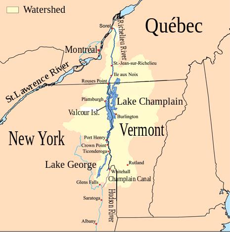 Source Http En Wikipedia Org Wiki Lake Champlain