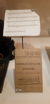 Glossary of German military terms to help code-breakers